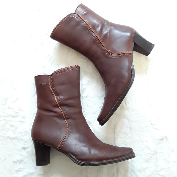 PIKOLINOS Shoes - PIKOLINOS Ankle Boots—Womens 38 (US 7.5–8)—Brown